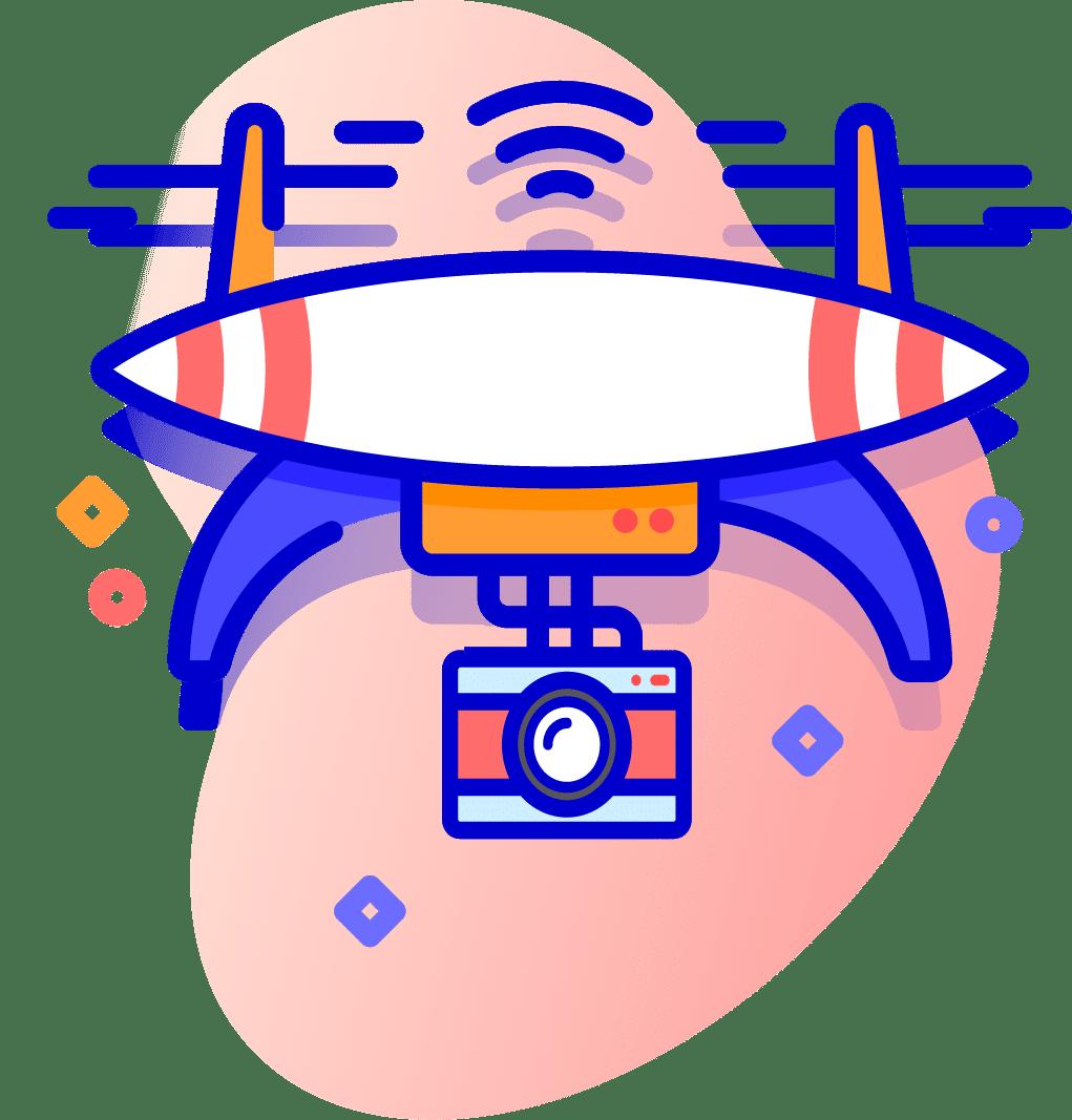 Foto 360º y filmación aérea